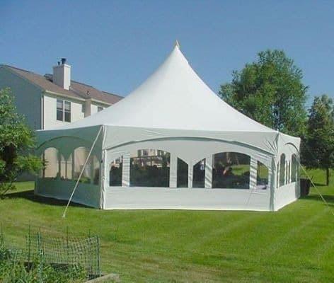 Frame Tent 35 X45 Hexagon Action Party Rental Ltd